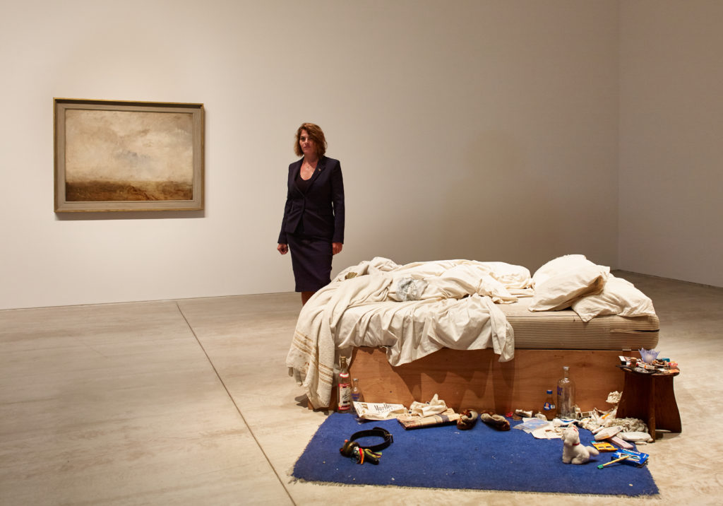 """artist Tracey Emin and """"My Bed"""""""