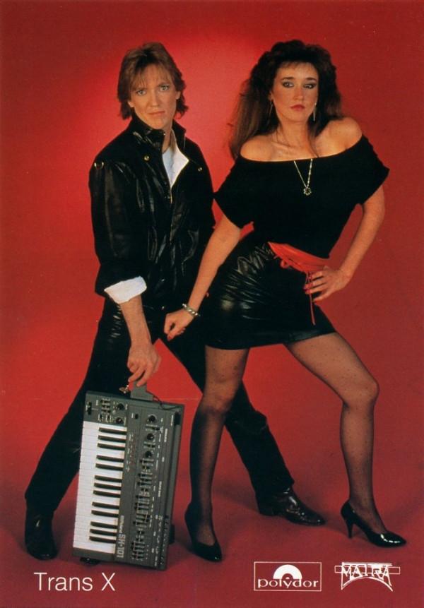 trans-x promo shot 1983