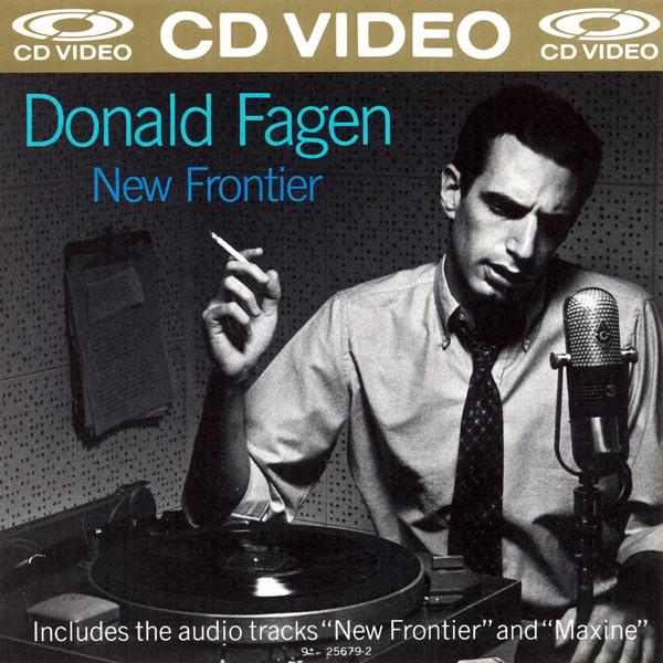 donald fagen new frontier CDV cover art