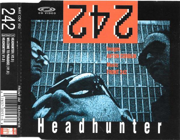 front 242 - headunter CDV cover art