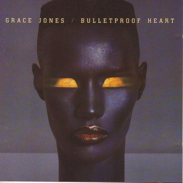 grace jones - bulletproof heart cover art