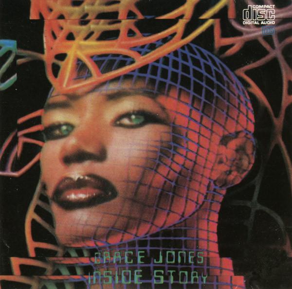 grace jones - inside story cover art