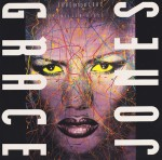 grace jones - love on top o f love cover art