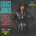 grace jones - victor shourl ahve been a jazz musician cover art