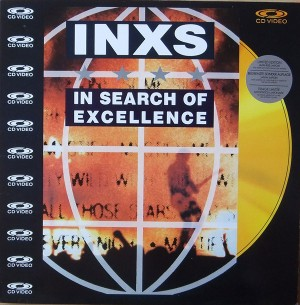 INXS in search of excellence UK laserdisc