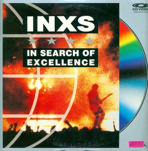 INXS in search of excellence US laserdisc