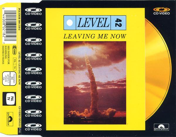 level 42 leaving me now CDV cover art