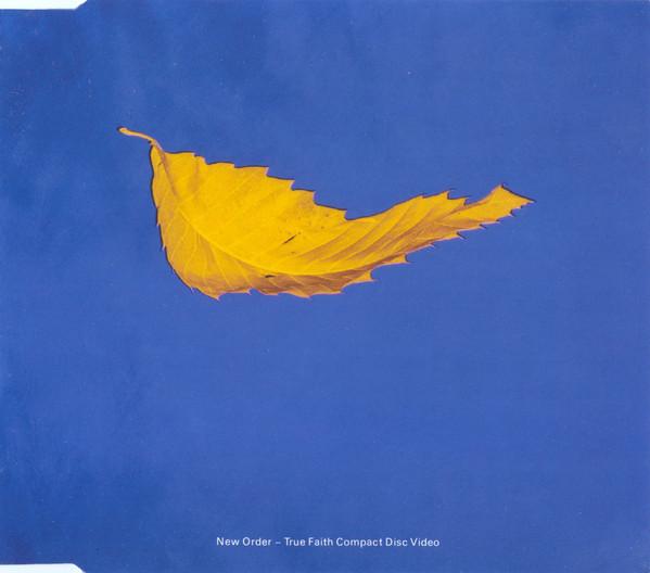 New Order - true faith CDV cover at