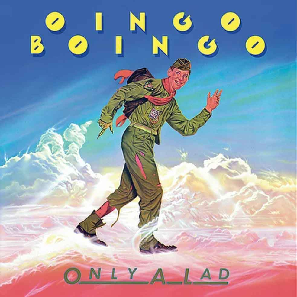 oingo boingo only a lad reissue cover art