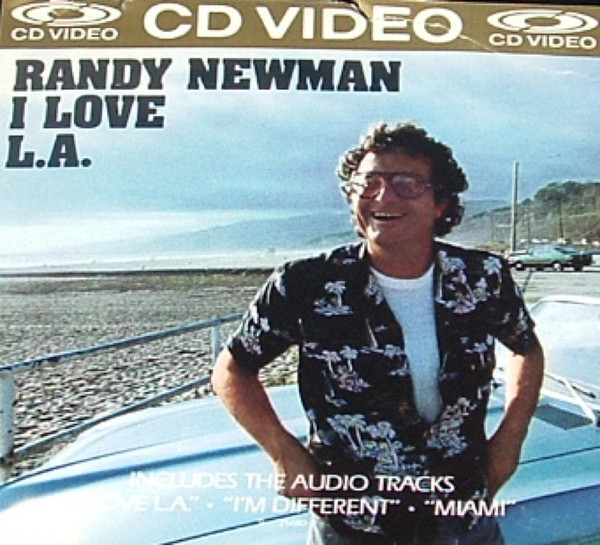 randy newman - I love L.A. CDV cover art