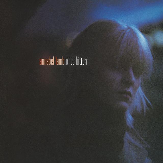 annabel lamb once bitten 2021 CD cover art
