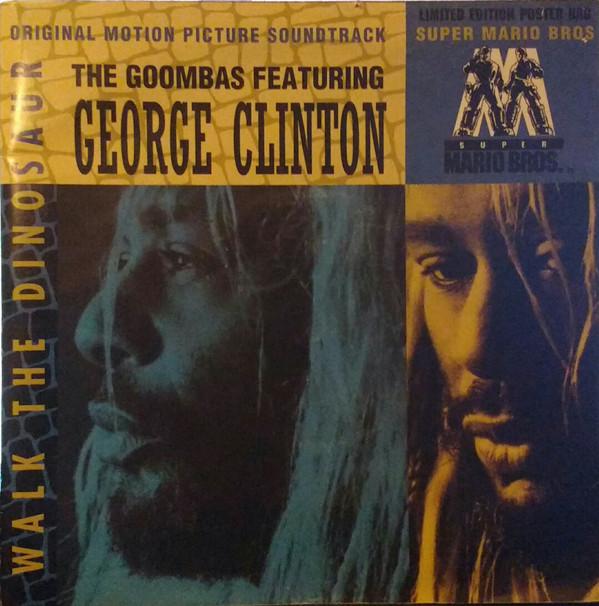 the goombas and george clinton - walk the dinosaur cover art