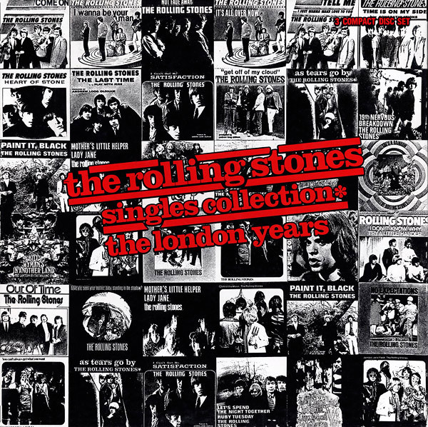 Rolling Stones singles collection the london years box art