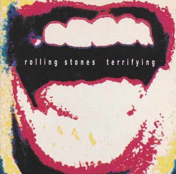 rolling stones - terrifying cover art