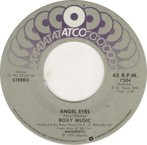 angel eyes US label