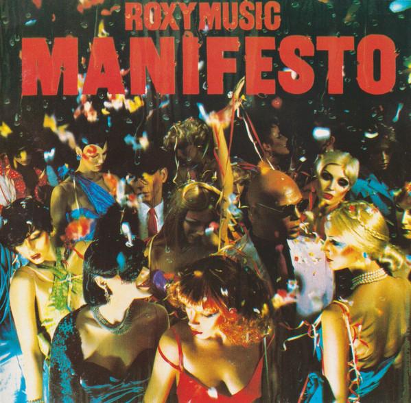 roxy music manifesto CD cover art