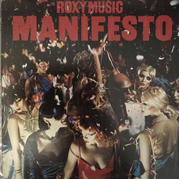 roxy music manifesto LP cover art