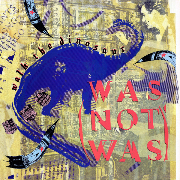 was (not was) walk the diinosaur cover art