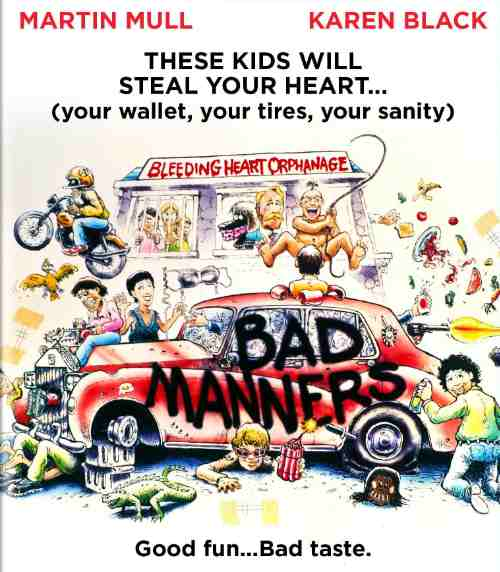 bad manners poster
