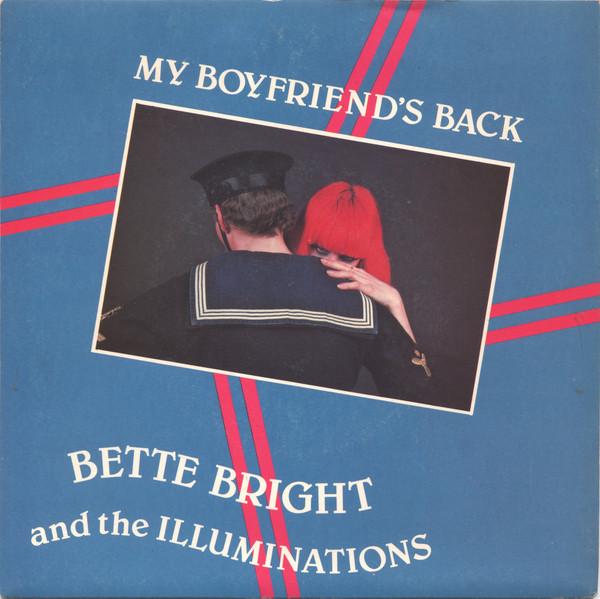 bette bright + the illuminations - my boyfriend's back cover art