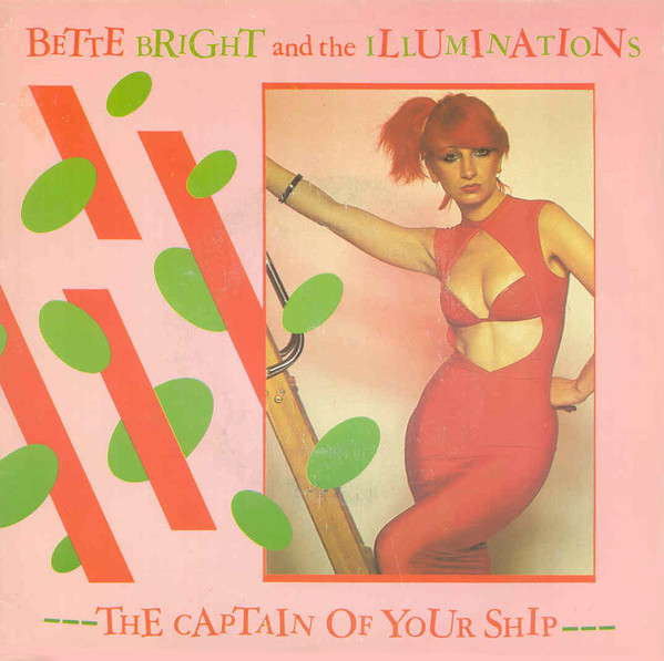 bette bright + the illuminations - the captain of your ship  cover art