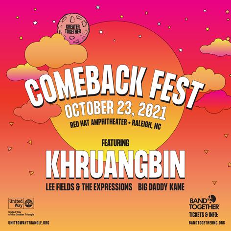 comeback fest poster