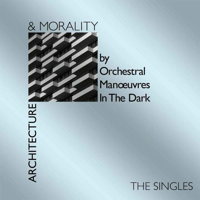 OMD architecture + Morality the singles cover art