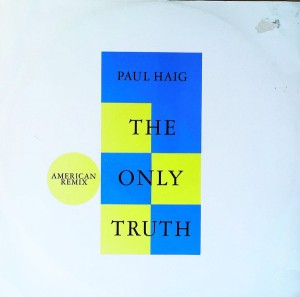 paul haig the only truth UK cover art