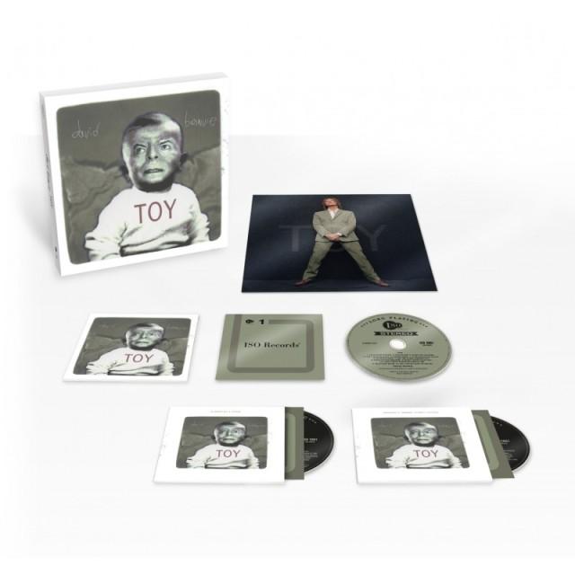 David Bowie - toy CD box
