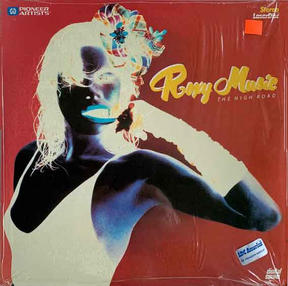 roxy music - the high road cover art