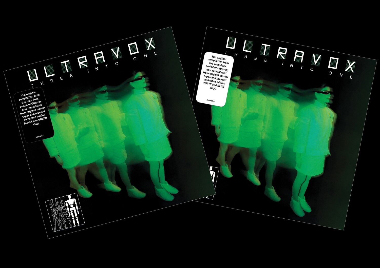 ultravox - rubellan remasters three-into-one LP colored vinyl